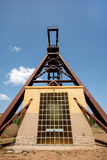 Serbariu煤矿 Carbonia (撒丁岛-意大利) 免版税库存图片