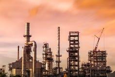 Serbatoi del gas naturale Fotografia Stock