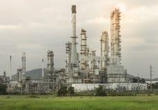 Serbatoi del gas naturale Fotografia Stock Libera da Diritti