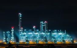 Serbatoi del gas naturale Fotografie Stock