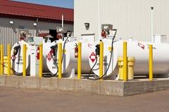 Serbatoi di combustibile Fotografie Stock