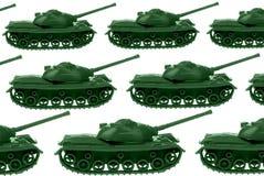Serbatoi di esercito del giocattolo Immagine Stock
