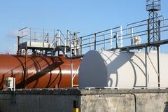 Serbatoi di olio combustibile Immagine Stock Libera da Diritti