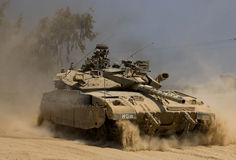 Serbatoio dell'IDF Fotografia Stock Libera da Diritti