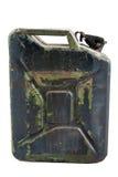 Serbatoio dell'olio militare immagine stock