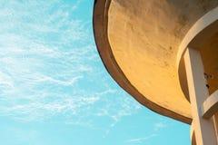 Serbatoio di acqua di cemento armato Fotografia Stock