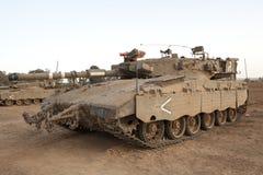Serbatoio di battaglia principale di Merkava Mk 4 Baz Immagine Stock Libera da Diritti