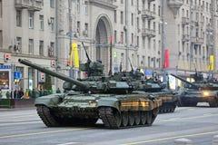Serbatoio di battaglia T-90 Fotografie Stock