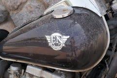Serbatoio di combustibile del motociclo di Kawasaki Fotografia Stock