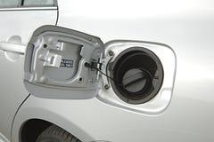 Serbatoio di combustibile di un'automobile fotografie stock libere da diritti