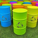 Serbatoio di Eco Immagini Stock