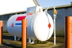 Serbatoio di gas Immagini Stock Libere da Diritti