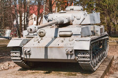 Serbatoio di Panzer Immagini Stock