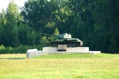 Serbatoio sovietico T-34 Fotografia Stock Libera da Diritti
