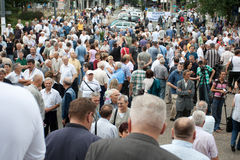 Serben in der vorderen Kirche Lizenzfreie Stockbilder