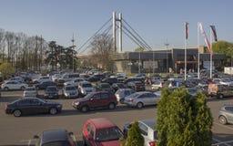 Serbia; Belgrade; April 2, 2017; Belgrade International Motor Sh royalty free stock images