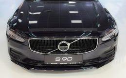 Serbia; Belgrade; Kwiecień 2, 2017; Zakończenie up Volvo S90; The Zdjęcia Stock