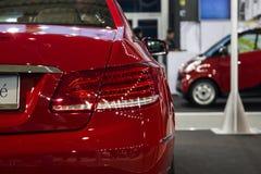 Mercedes E 200 coupe Royalty Free Stock Photo