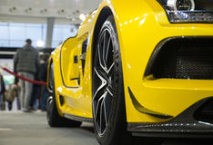 Mercedes SLS AMG Stock Photos