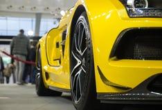 Mercedes SLS AMG Arkivfoton