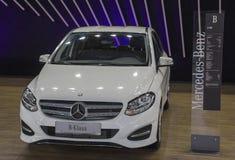 Serbia; Belgrade; Marzec 29, 2017; Mercedes-Benz b klasa; 53r Obraz Stock