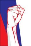 Serbia fist Royalty Free Stock Photos