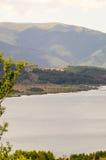 Serbia: Fresh water lake in the mountains Stock Image