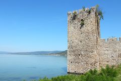 Serbia - Golubac fortress Royalty Free Stock Photo