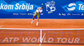Serbia Open 2009 - ATP 250. SERBIA OPEN powered by Telekom Serbia Royalty Free Stock Photo