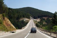 Serbia road trip Stock Image