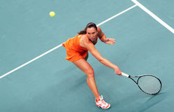 Serbia's Jelena Jankovic at Open GDF Suez 2009 Stock Photography