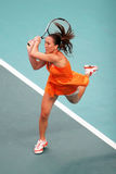 Serbia's Jelena Jankovic at Open GDF Suez Stock Images