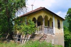serbian дома старый стоковое фото