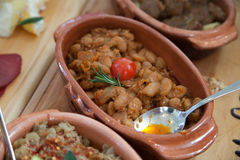 Serbian baked beans Royalty Free Stock Image