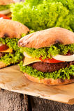 Serbian buger Stock Photo