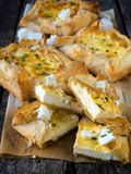Serbian cheese pie Royalty Free Stock Images