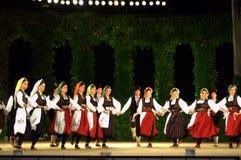 Serbian dance ensemble Stock Image