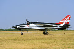 Serbian Eagle airplane Royalty Free Stock Images