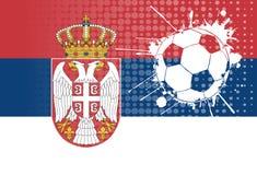 Serbian football Royalty Free Stock Photography