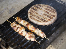 Serbian grill Royalty Free Stock Photography