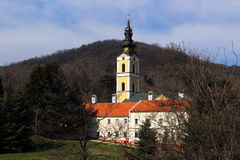 Serbian holy mountain Stock Photos