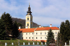 Serbian holy mountain Royalty Free Stock Photography