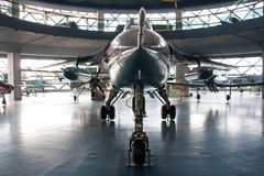 Serbian Jet Fighter. Serbian famous jet fighter Orao from the museum setup stock photography