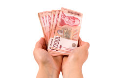 Serbian money Royalty Free Stock Photography
