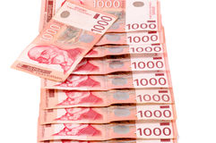 Serbian offical money Stock Image