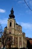 Serbian Orthodox Cathedral Church of the Nativity of the Theotokos Sarajevo Bosnia Hercegovina Stock Photography