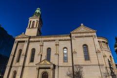 Serbian Orthodox Cathedral - Zagreb, Croatia. Europe stock image