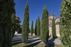 Serbian Orthodox church Hercegovacka Gracanica. In Trebinje, Bosnia and Herzegovina stock photography