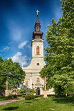 Serbian Orthodox Church of the Holy Ascension of the Lord in Subotica town, Serbia Royalty Free Stock Photo