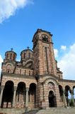Serbian Orthodox Church of Saint Mark Belgrade Serbia Stock Photos